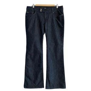 Point Zero Bootcut Dark Wash Jeans